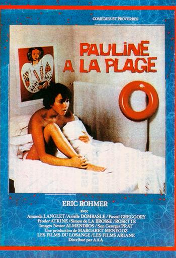 Pauline på stranden - CIN B_poster