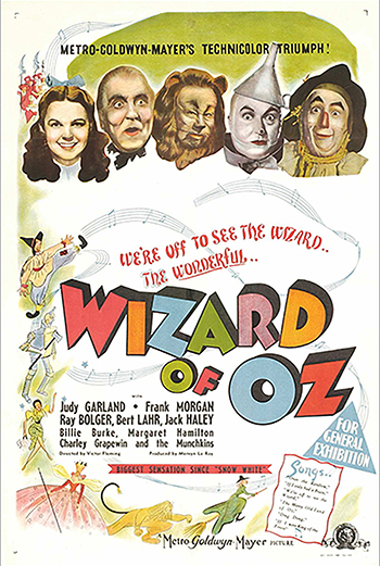 Troldmanden fra Oz - CIN B_poster