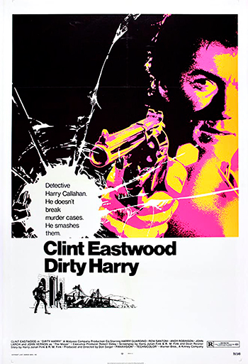 Dirty Harry - CIN B_poster