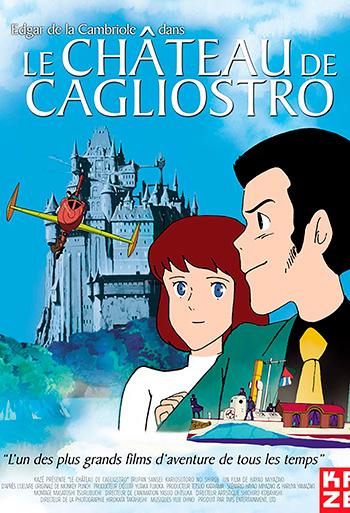Slottet i Cagliostro - CIN B_poster