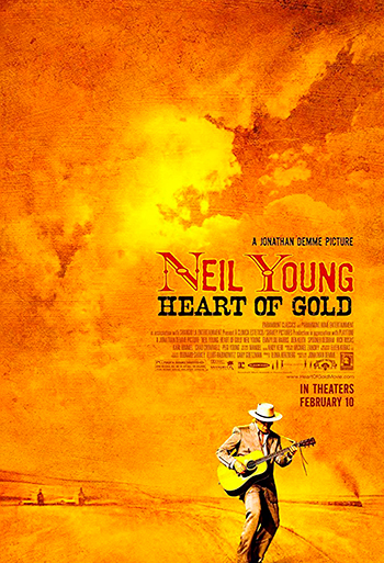 Neil Young - Heart of Gold - CIN B_poster