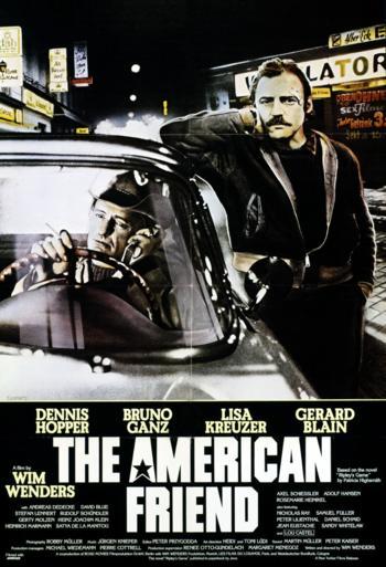 Den amerikanske ven - CIN B_poster