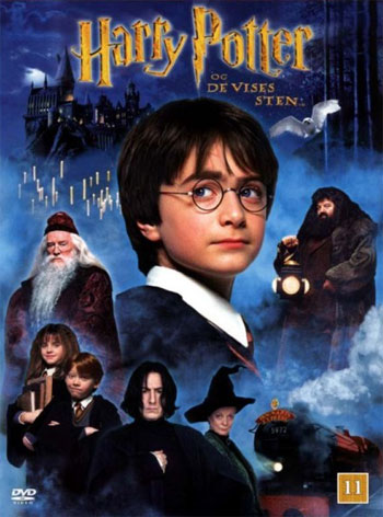 Harry Potter Og De Vises Sten_poster
