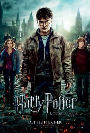 Harry Potter Og Dødsregalierne - Del 2_poster