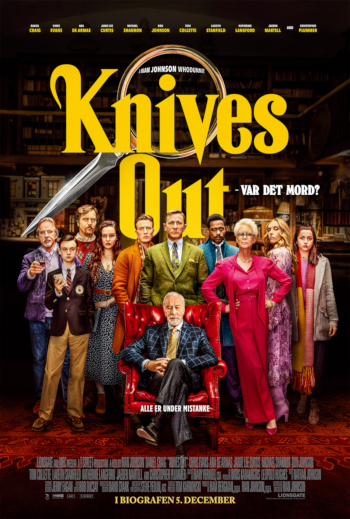 Knives out - Var det mord_poster
