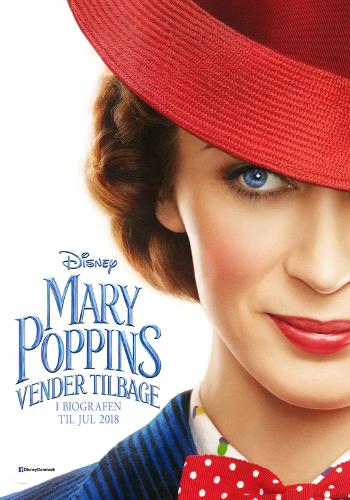 Mary Poppins vender tilbage - Med dansk tale_poster