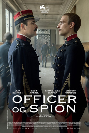 Officer og Spion_poster