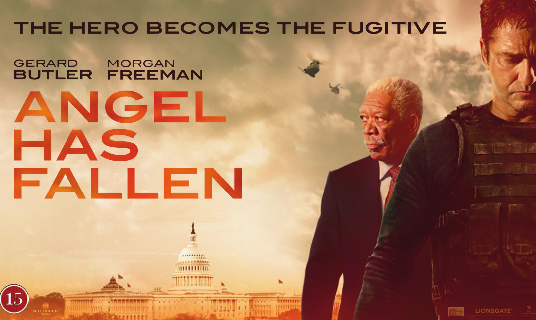 Angel has fallen_poster
