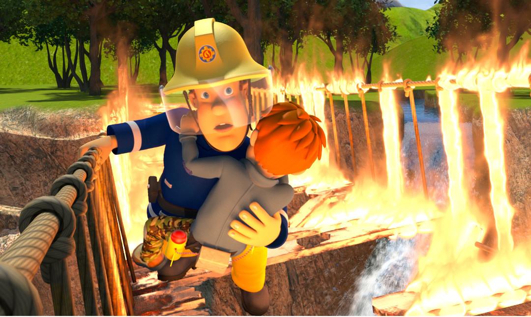 Brandmand Sam - Klar til action!_poster
