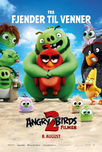 Angry Birds 2 - Med dansk tale_poster