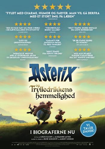 Asterix og trylledrikkens hemmelighed_poster