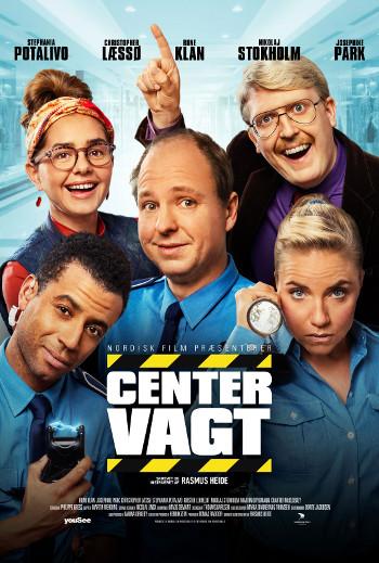 Centervagt - med danske tekster_poster
