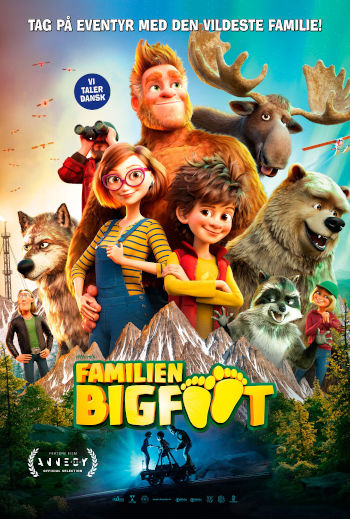 Familien Bigfoot_poster