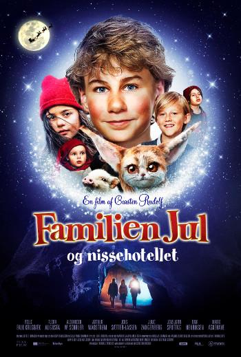 Familien Jul og Nissehotellet_poster