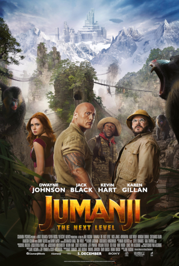 Jumanji: The Next Level_poster