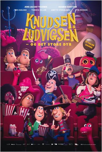 Knudsen & Ludvigsen - det store dyr_poster