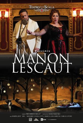 OperaKino 21/22 - Manon lescaut, Milano - november_poster