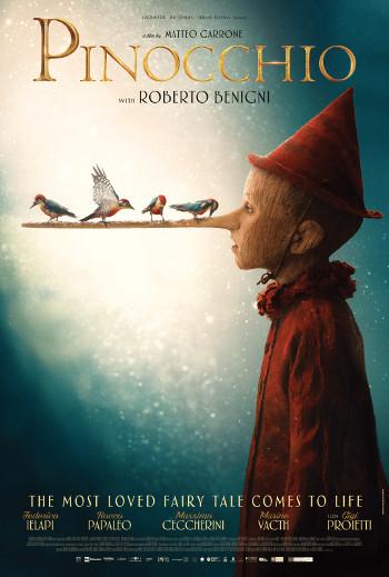 Pinocchio - Med dansk tale_poster