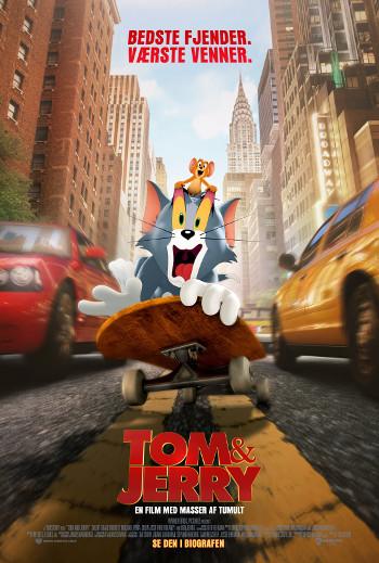 Tom & Jerry - Med dansk tale_poster