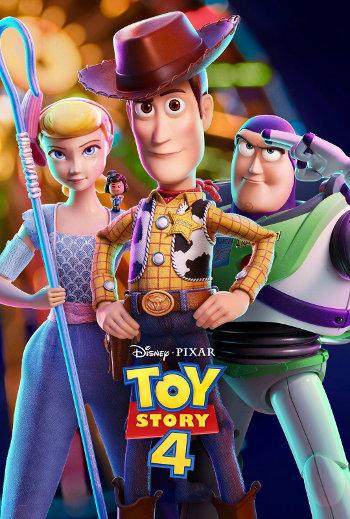 Toy Story 4 - Med dansk tale_poster